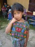 Young girl in Rural Guatemala
