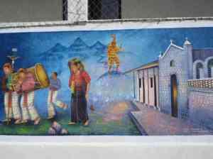 Mural in San Juan La Laguna