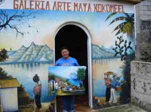 Painter's artisan shop