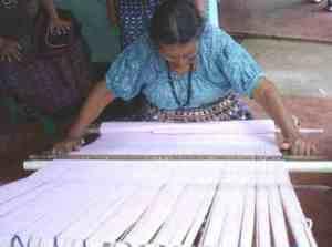 backstrap weaving artisan