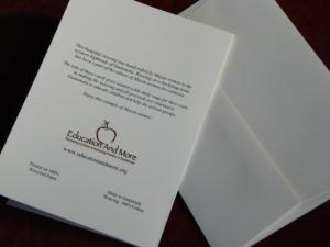 Fair Trade Eco-friendly notecard