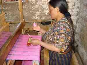 Fair Trade Artisan Weaver