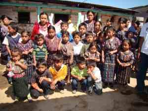 Fair Trade Women Artisans and their children