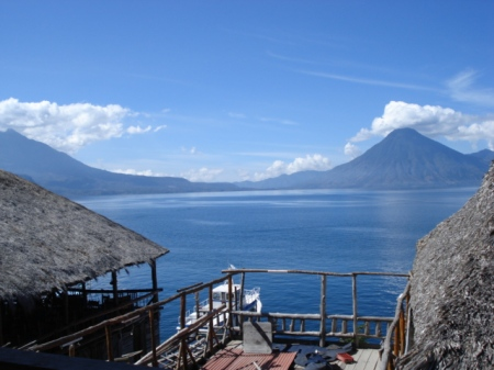 Visit beautiful Lake Atitlan