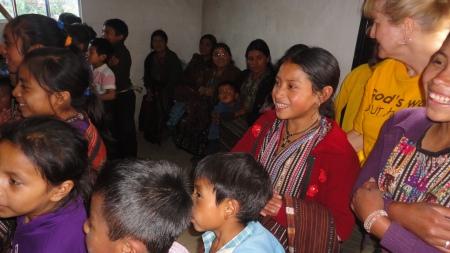 Sharing God's Love in Guatemala