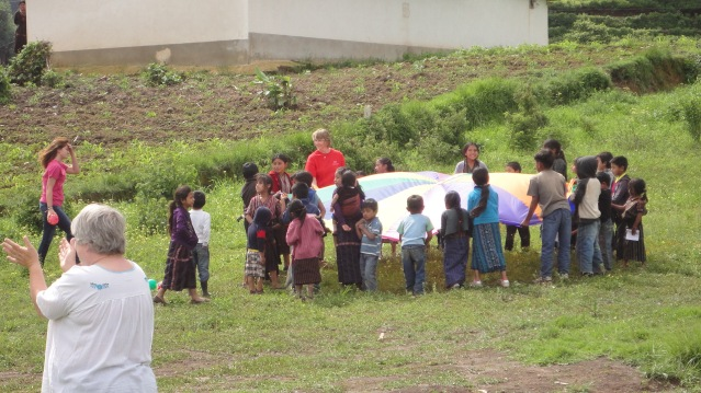 VBS Games with the children in Guatemala, Education And More