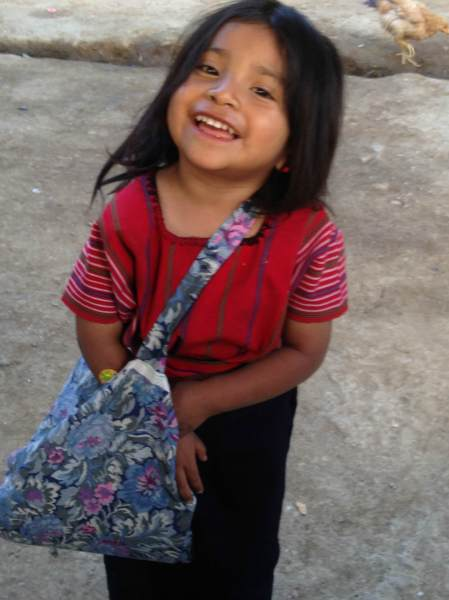 child in Guatemala