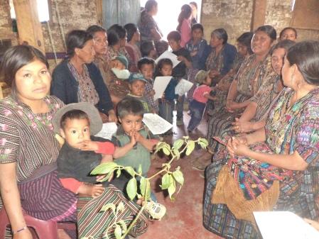 Bible Study in Guatemala