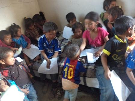 Christian Bible Study in Guatemala